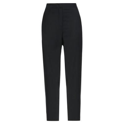マニュエル リッツ MANUEL RITZ パンツ ブラック 44 ポリエステル 54% / ウール 44% / ポリウレタン 2% パンツ