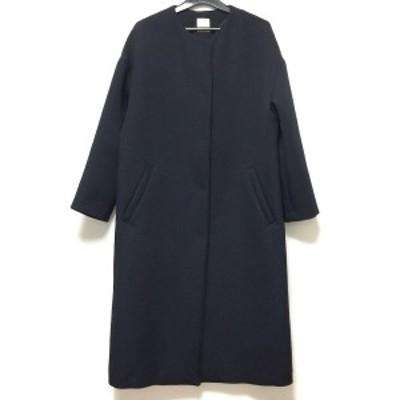 ノーリーズ NOLLEY'S コート サイズ36 S レディース - ダークネイビー 長袖/春/秋【中古】20210304