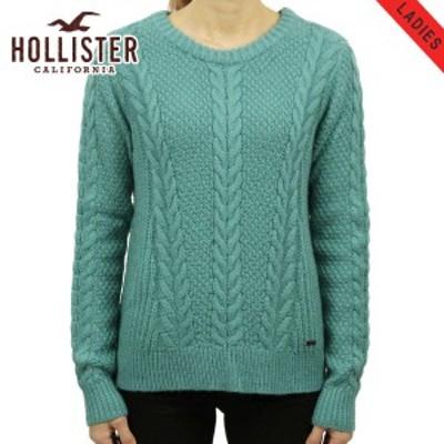 ホリスター セーター レディース 正規品 HOLLISTER   Cable Crew Sweater 350-507-0569-230