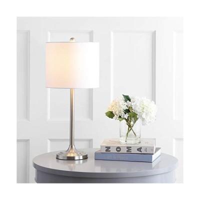 [新品]Safavieh TBL4134A Lighting Westin Adjustable Brush Nickel (LED Bulb Included) Table Lamp