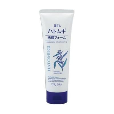 【あわせ買い2999円以上で送料無料】熊野油脂 麗白 ハトムギ洗顔フォーム 170g