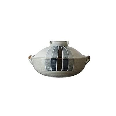 萬古焼 三鈴陶器 一珍トクサ 土鍋 (8号)