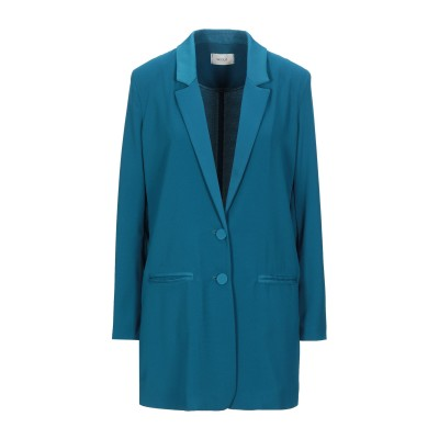 VICOLO テーラードジャケット ディープジェード S ポリエステル 100% テーラードジャケット