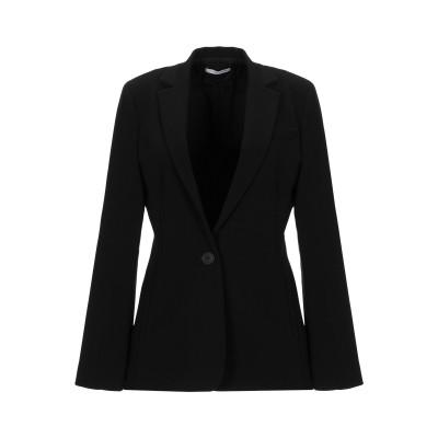 SFIZIO テーラードジャケット ブラック 40 ポリエステル 63% / レーヨン 33% / ポリウレタン 4% テーラードジャケット