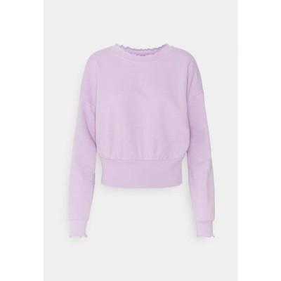 オンリー レディース ファッション ONLHAISLEY LIFE - Sweatshirt - orchid bloom