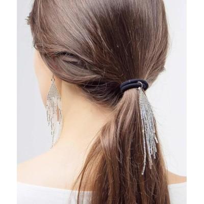 rinto / 【MATSUNO GLASS BEADS/松野グラスビーズ】FEATHER HAIR ELASTIC HG41M WOMEN ヘアアクセサリー > ヘアゴム