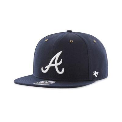 カーハート 47ブランド キャップ MLB アトランタ ブレーブス Carhartt × 47 BRAND Atlanta Braves '47 Captain Cap KMORE103DUP-NY