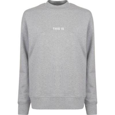 ヒューゴ ボス BOSS レディース スウェット・トレーナー トップス Tastend Sweatshirt Grey