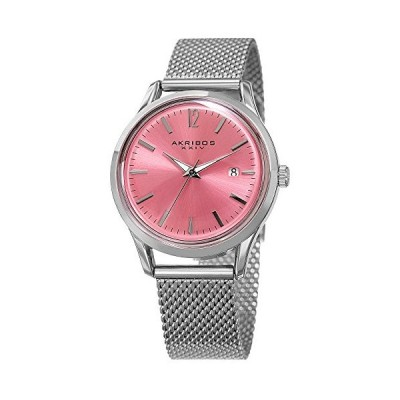 腕時計 アクリボスXXIV レディース AK930PK Akribos Women's Domed Krysterna Crystal Watch - Colored
