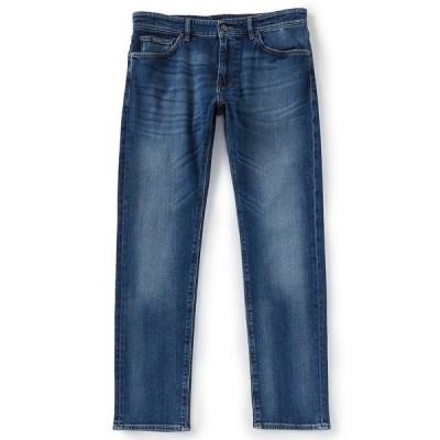 ヒューゴボス メンズ デニムパンツ ボトムス BOSS Candiani Maine Stretch Denim Jeans Navy