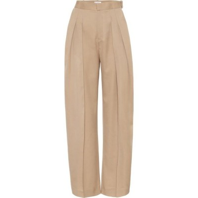 J.W.アンダーソン JW Anderson レディース ボトムス・パンツ High-rise virgin wool pants Hemp