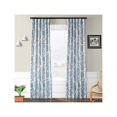 遮光カーテン ティータイムチャイナブルー 50 x 108 ブルー BOCH-KC16072-108