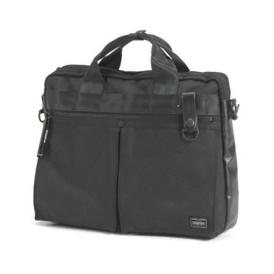 【カバンのセレクション】 吉田カバン ポーター ヒート ビジネスバッグ メンズ レディース ブランド 2WAY A4 PORTER 703−07881 ユニセックス ブラック フリー Bag&Luggage SELECTION