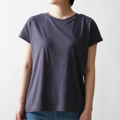 サラリスト さっと乾くカップ付きTシャツ(ブラトップ) チャコールネイビー S M L LL 3L