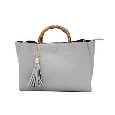 Bonjour Sagan / 【グッシオベーシック】バンブーハンドル2WAYハンドバッグ WOMEN バッグ > ハンドバッグ