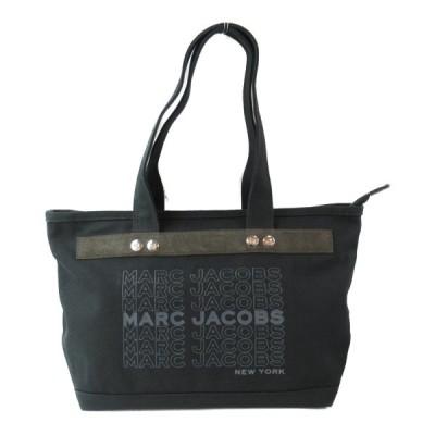 マーク・ジェイコブス トートバッグ ブラック キャンバス M0016405001 新品