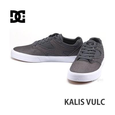 ディーシー カリス バルク DC KALIS VULC スニーカー メンズ シューズ スケボー スケートボード スケシュー 靴 カラー:GREY/GUM