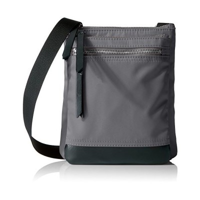 Lodis Kate Nylon RFID Under Lock & Key Zora Travel Pouch Crossbody, Grey【並行輸入品】