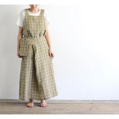 SALE40%OFF// Vlas Blomme ヴラスブラム Vintage Check ジャンパースカート 13541801