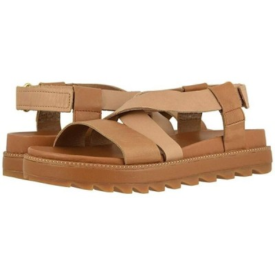 ソレル Roaming Crisscross Sandal レディース サンダル Camel Brown