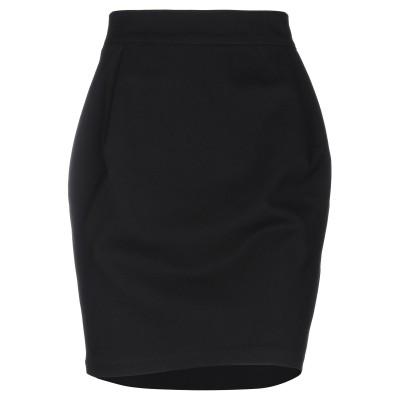 ARMANI EXCHANGE ひざ丈スカート ブラック XS レーヨン 69% / ナイロン 27% / ポリウレタン 4% ひざ丈スカート