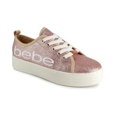 ベベ レディース スニーカー シューズ Women's Dovie Logo Platform Sneaker Rse Gld Gl
