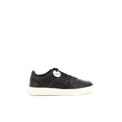 Hogan Luxury Fashion Man HXM3650BD50LE9B999 Black Leather Sneakers | Spring Summer 20 並行輸入品
