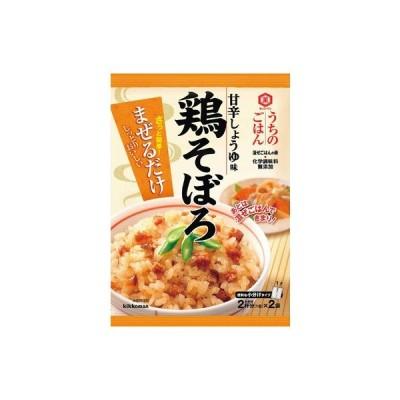 キッコーマン うちのごはん 鶏そぼろ甘辛しょうゆ味 116g まとめ買い(×10)