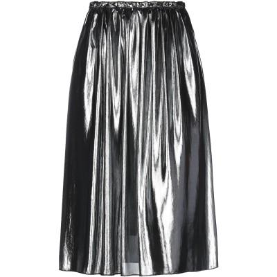 EMMA 7分丈スカート グレー XS ポリエステル 100% 7分丈スカート