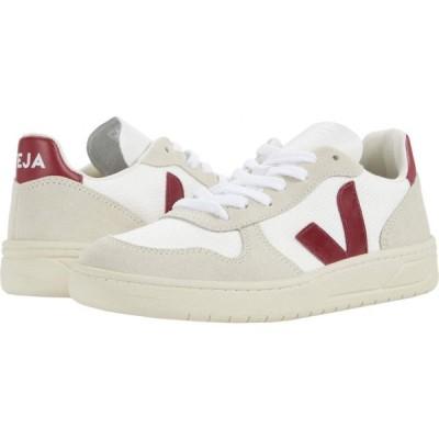 ヴェジャ VEJA レディース シューズ・靴 V-10 B Mesh White/Natural/Marsala