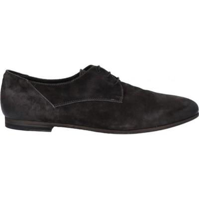パンタネッティ PANTANETTI メンズ シューズ・靴 laced shoes Steel grey