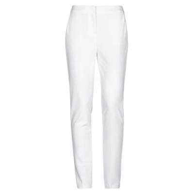 ブルーガール ブルマリン BLUGIRL BLUMARINE パンツ ホワイト 42 ポリエステル 95% / ポリウレタン 5% パンツ