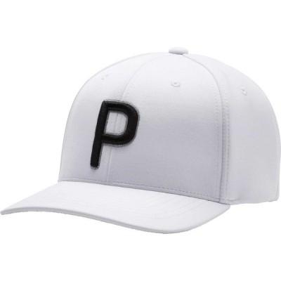 プーマ 帽子 アクセサリー メンズ PUMA Men's P 110 2020 Golf Hat BrightWhite