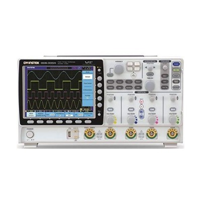 """GW Instek GDS-3254 8"""" LCD Color Display Digital Storage Oscilloscope with USB Port, 250MHz Bandwidth, 4-Channel, 1.4ns Rise Time"""
