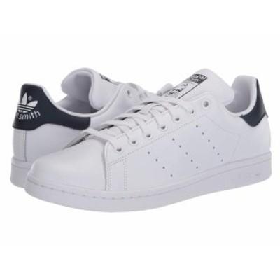 アディダス レディース スニーカー シューズ Stan Smith Footwear White/Footwear White/Collegiate Navy
