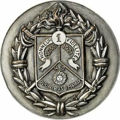 金貨 銀貨 硬貨 シルバー ゴールド アンティークコイン [#551893] France, Medal, Militaire, Royal Etranger de Cavalerie, AU(50-53)
