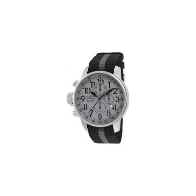 インヴィクタ INVICTA メンズ アイフォース グレー ナイロン バンド スチール ケース クォーツ アナログ 腕時計 22846
