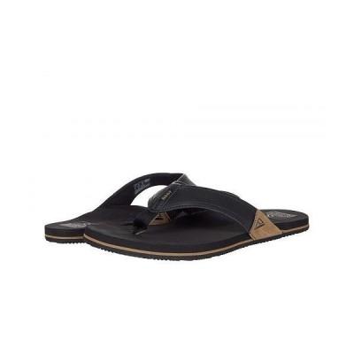 Reef リーフ メンズ 男性用 シューズ 靴 サンダル Newport - Black