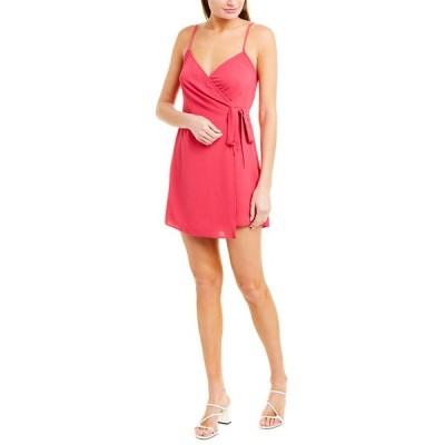 ウミーユアムーム ワンピース トップス レディース Show Me Your Mumu Say Jay Wrap Dress hot pink