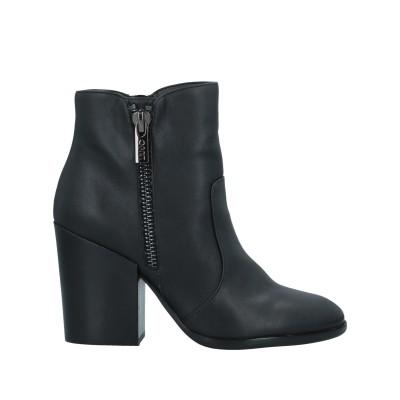 リュー ジョー LIU •JO ショートブーツ ブラック 40 紡績繊維 ショートブーツ