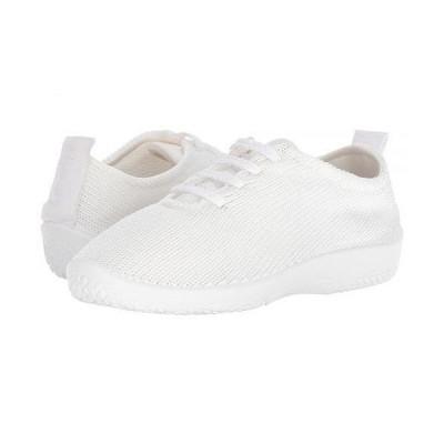 Arcopedico アルコペディコ レディース 女性用 シューズ 靴 スニーカー 運動靴 LS - White/White