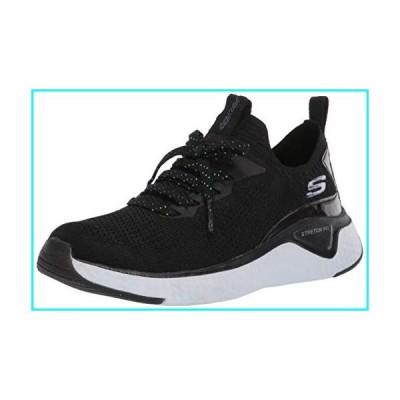 Skechers Women's Solar Fuse-Gravity Experience Sneaker, Black, 9.5 M US