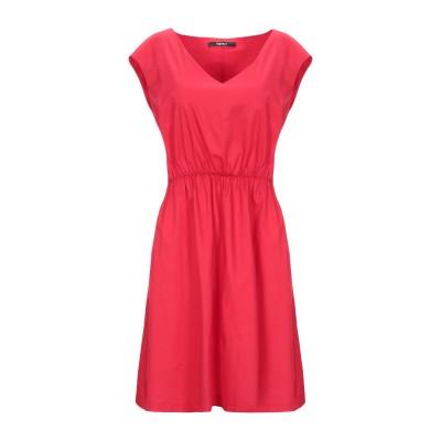 SISTE' S ミニワンピース&ドレス レッド S コットン 97% / ポリウレタン 3% ミニワンピース&ドレス