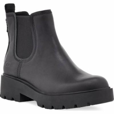 アグ UGG レディース ブーツ チェルシーブーツ シューズ・靴 Markstrum Waterproof Chelsea Boot Black Leather