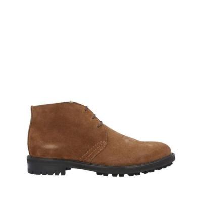 TAGLIATORE ショートブーツ  メンズファッション  メンズシューズ、紳士靴  ブーツ  その他ブーツ ブラウン