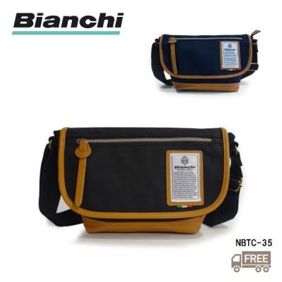 【Bianchi】 ビアンキ ショルダーバッグ NBTC35 ボディバッグ メンズ 自転車 カジュアル シンプル 男女兼用 イタリア 送料無料