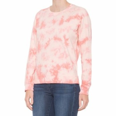ラッキーブランド Lucky Brand レディース スウェット・トレーナー トップス Peached Tie-Dye Sweatshirt Peach Multi