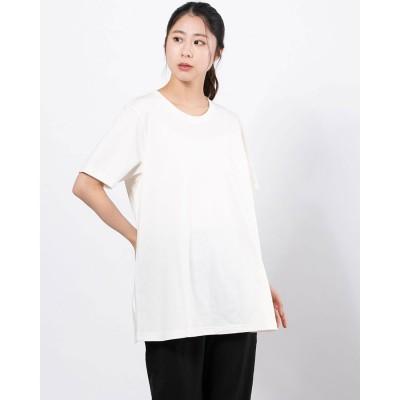 ティゴラ TIGORA レディース 半袖Tシャツ TR-9C2221TS (ホワイト)