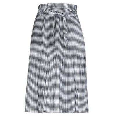 CUBIC ひざ丈スカート ブラック XS ポリエステル 100% ひざ丈スカート