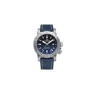 Glycine Airman Mens Analog Automatic Watch with Leather Bracelet GL0054 並行輸入品